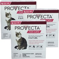 12 MONTH Provecta Advanced for Cats (5-9 lbs)