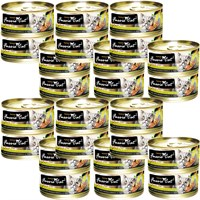 Fussie Cat Tuna and Mussels Formula in Aspic (24x2.8 oz)