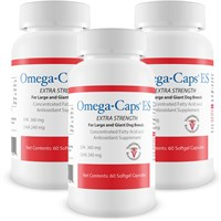 3-Pack Omega-Caps™ Extra Strength For Large and Giant Dogs (180 Softgel Capsules)