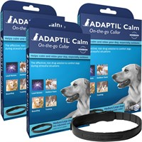 3 Pack ADAPTIL (DAP) Collar for Medium & Large Dogs