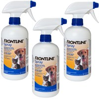 Dog Suppliesflea & Tick Suppliessprays Wipes & Powdersfrontline Spray