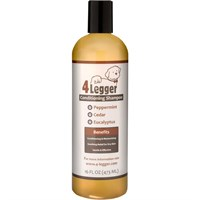 4-Legger Peppermint, Cedar & Eucalyptus Dog Conditioning Shampoo (16 fl oz)