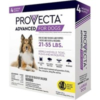 4 MONTH Provecta Advanced for Large Dogs (21-55 lbs)