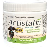 NEW! Actistatin Canine Extra Strength Soft Chews Small Bites (120 ct)