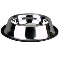 Advance Pet Products Non-Skid Stainless Steel Dish (32 oz)