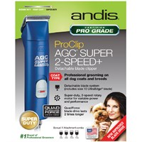 Andis ProClip UltraEdge Pet Clipper - Blue