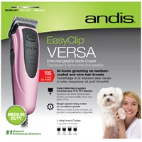 Andis® EasyClip Versa™ Pet Clipper Kit (12 Pieces)