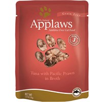 Applaws Tuna with Pacific Prawn in Broth (2.47 oz)