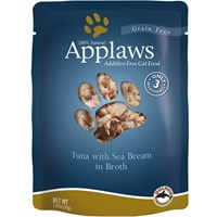 Applaws Tuna with Sea Bream in Broth (2.47 oz)