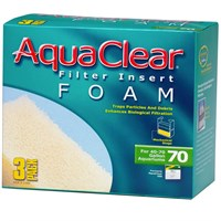 AquaClear 70 Filter Insert Foam (3pk)