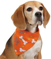Aria Trick or Treat Bandana - Orange