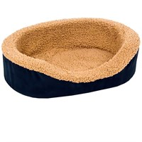 "Aspen Pet Lounger Asst Plush/Suede (23"" x"