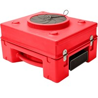 B-Air Variable Speed Air Scrubber - Red