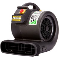 B-Air Grizzly 3 Speeds Multi Cage Dryer - Black