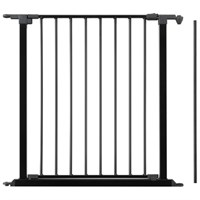 "BabyDan Flex Extension Door - Black (28.4"")"