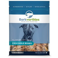 Barkworthies Crocodile Bones (5 oz)