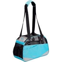 "Bergan Voyager Pet Carrier - Medium/Large Air Blue (13"" x 19"" x 10"")"