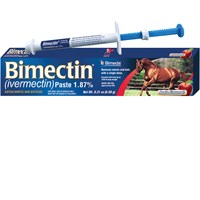 Bimectin Dewormer Paste for Horses - Apple Flavor (6.08 g)