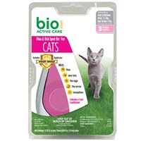 Bio Spot Active Care Flea & Tick Spot On for Cats (under 5 lb) - 3 Months