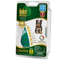 bio spot defense with smart shield applicator for dogs (3 month) - toy 6-12 lbs on lovemypets.com