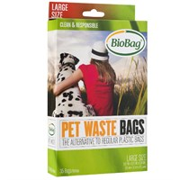 BioBag Large Dog Waste Bags (35 ct)