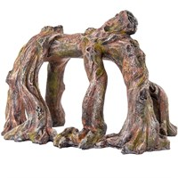 "BioBubble Decorative Ficus Roots Horizontal (9"" x 6.5"" x 6.25"")"