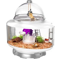 "BioBubble Terrarium Small Animal Habitat - Silver (24"" x 15.25"" x 25"")"