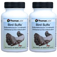 Bird Sulfa (Sulfamethoxazole Trimethoprin) - 60 Tablets