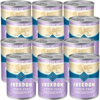 Image of Blue Buffalo Freedom - Chicken Recipe Canned Indoor Cat Food (12x12.5 oz)