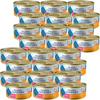 Blue Buffalo Healthy Gourmet Turkey & Chicken Entree For Cats (24 Pack) 5.5oz
