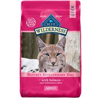 Blue Buffalo wilderness Grain-Free Salmon Recipe for Cats (11 lb)