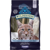 Blue Buffalo Wilderness Grain Free - Salmon Recipe for Cats (5 lb)