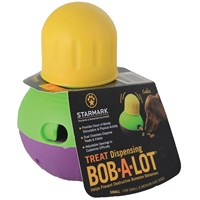bob-a-lot multi chambered interactive dog toy - small on lovemypets.com