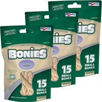 BONIES Natural Calming Multi-Pack SMALL 3-PACK (45 Bones)