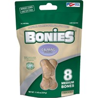 BONIES Natural Calming Formula Multi-Pack MEDIUM (8 Bones / 11.45 oz)