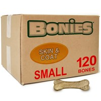 BONIES (BULK BOX) Skin & Coat Bones (120 SMALL Bones)