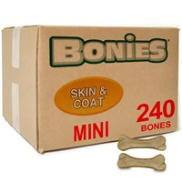 BONIES (BULK BOX) Skin & Coat Bones (240 MINI Bones)