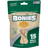 BONIES Skin & Coat Bones Multi-Pack SMALL (15 Bones)