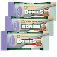 3-PACK BONIES Natural Calming MINIS 6 BONES (2.10 oz)