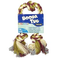 Booda 3 Knot Multi-Color Tug Rope - Large