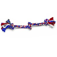 Booda 3 Knot Multi-Color Tug Rope - Medium