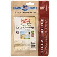 Bravo! Dog Training Treats All-Natural Beef Hot Dog (4 oz)