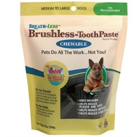 Dog Suppliesdental Productsdental Dog Treatsark Naturals Breathless Chews