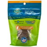 Petsafe® Busy Buddy™ Treat Rings Plus Benefits Joint Support - Size B Refills