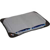Caldera Hot & Cold Pet Bed - Gray (Medium)