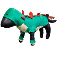 Casual Canine Dogosaurus Costume Green - LARGE