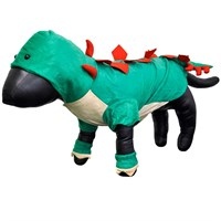 Casual Canine Dogosaurus Costume Green - MEDIUM