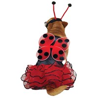 Dog Suppliesappareldog Costumescasual Canine Lucky Bug Costume Red