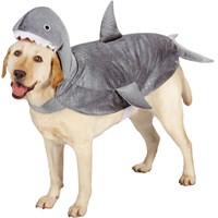 Casual Canine Shark Costume - Small