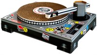 Image of Cat DJ Scratching Deck